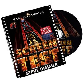 Alakazam Magic UK Original Screen Test Pocket (DVD and Gimmicks)  by Steve Dimmer
