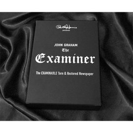 Paul Harris Presents The Examiner (Gimmicks & DVD) by John Graham