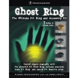 Trickmaster Magic Ghost Ring - X-Large 23mm Gold  (M10)