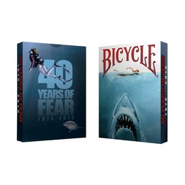 Crooked Kings Bicycle 40 Years of Fear Jaws Playing Cards by Crooked Kings