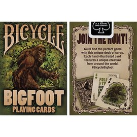 Crooked Kings Bicycle Bigfoot Playing Cards
