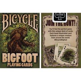 Crooked Kings Bicycle Bigfoot Playing Cards