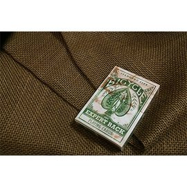 United States Playing Card Company Bicycle Expert Back - Green by US Playing Card Co
