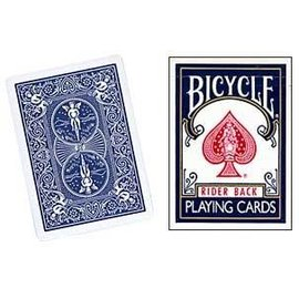 United States Playing Card Compnay Card - Double Back Bicycle Cards, Blue (M10)