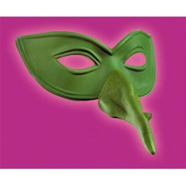 Disguise Eye Mask w/Witch Nose - Adult