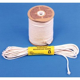 Morris Costumes Magician's Rope 50' Hank, 8mm - White (M8)