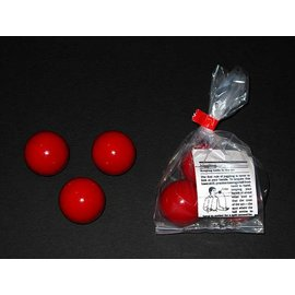 Casey's Wood Products Juggling Balls - Wood, Red