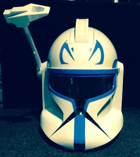 Hasbro USED - Helmet Captain Rex Clone Trooper Voice ...