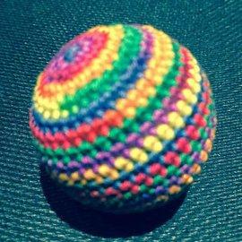 Ronjo Load Ball, 1 1/4 inch Wood - Rainbow (M8)