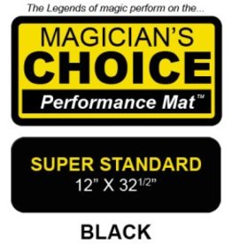 Ronjo Magic And Costumes Super Standard Close-Up Mat Black (Thick) Perfomance