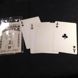 Haines House Of Cards USED Card - Jumbo Sidewalk Shuffle (M11)