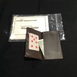 Magic Showcase USED  Wager Wallet by Benjamin Mason  (M11)
