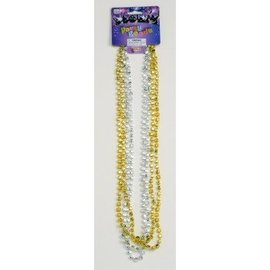 Forum Novelties Party Beads Gold and Silver Dice