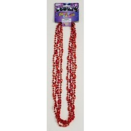Forum Novelties Party Beads Red Chilli Peppers