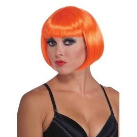 Forum Novelties Neon Orange Bob Wig (361)