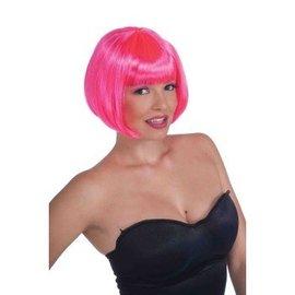 Forum Novelties Neon Pink Bob Wig (361)