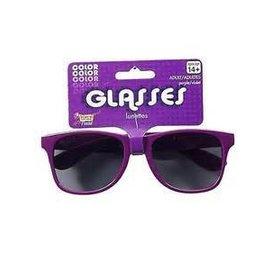 Forum Novelties Purple Frame Sunglasses