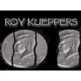 Roy Kuppers Coin in Bottle Half Dollar By Roy Kuppers - Coin