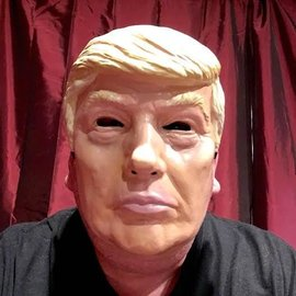 Forum Novelties Politician Mask, Male - Plastic Trump