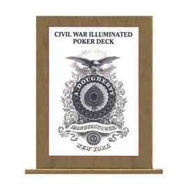 U.S. Games Civil War Illuminated Poker Deck - Card