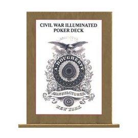 U.S. Games Civil War Illuminated Poker Deck - Card
