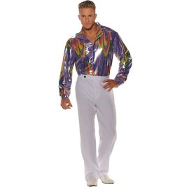 Underwraps Disco Shirt Adult Std