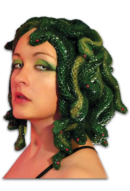 Medusa Headpiece Latex Ronjo Magic Costumes And Party Shop