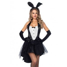 Leg Avenue Tux And Tails Bunny - S/M
