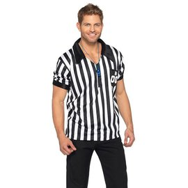 Leg Avenue Referee Shirt, Male - XL