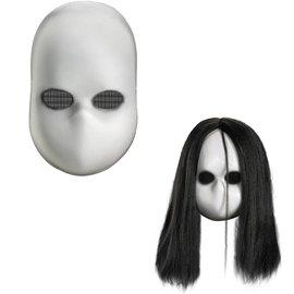 Disguise Blank Black Eyes Doll Mask