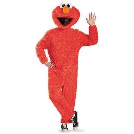 Disguise Full Plush Elmo - Prestige Adult 42-46