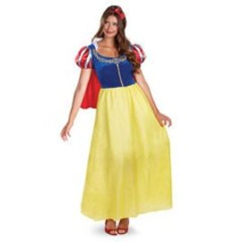 Disguise Snow White Deluxe - Adult Size 4-6