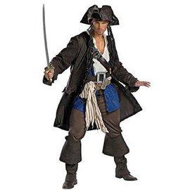 Disguise Captain Jack Sparrow, Prestige - Adult XXL 50-52