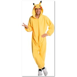 Rubies Costume Company One-Piece Pikachu Costume, Adult Standard