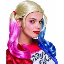 Rubies Costume Company Deluxe Harley Quinn Wig