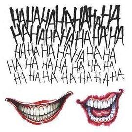 Rubies Costume Company Joker Tattoo Kit - Suicide Squad