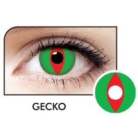 Fine And Clear Gecko Contact Lenses (C2)