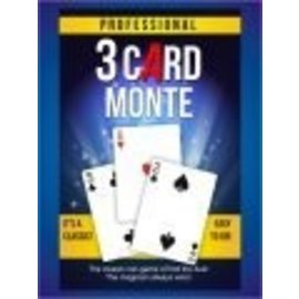 Trickmaster Magic Professional 3 Card Monte by Trickmaster (M10)