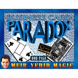 Meir Yedid Magic Business Card Paradox by Bob Page (M10)