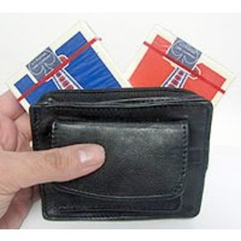 Meir Yedid Magic Card And Coin Pouch by Meir Yedid (M10)