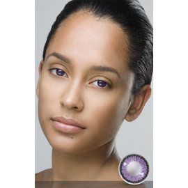 Fine And Clear Violet Contact Lenses (C2)