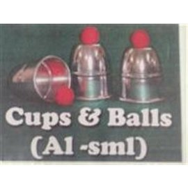 Funtime Magic Cups And Balls, Aluminum - Small by FT