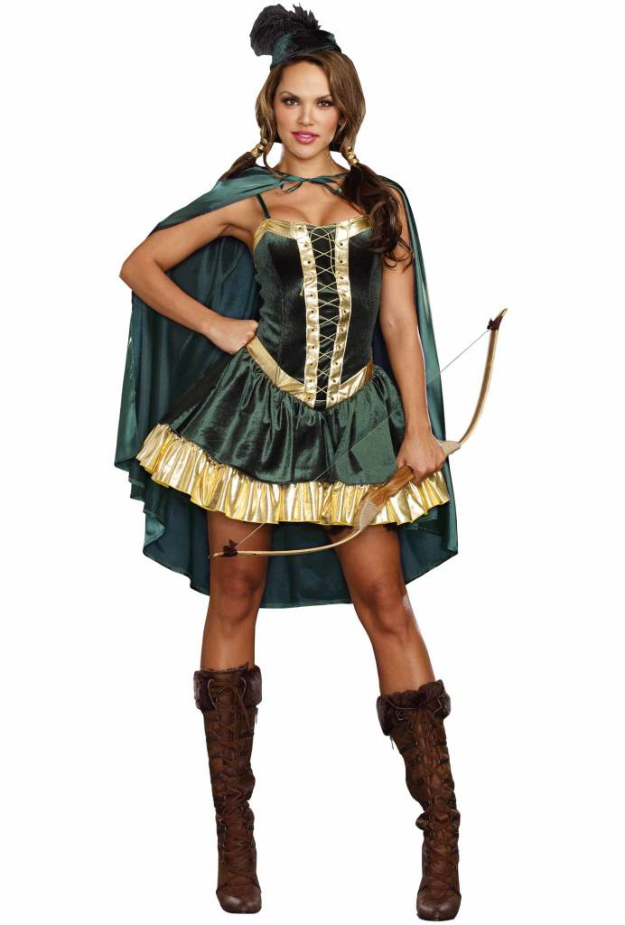 Dreamgirl Robin Hood Female - Adult Large by Dreamgirl ...  sc 1 st  Ronjo Magic & Robin Hood Female - Ronjo Magic Costumes and Party Shop
