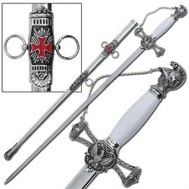 China Knights of St. John Masons Sword Silver