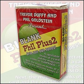 Trevor Duffy Blank Phil Plus 2 by Trevor Duffy and Phil Goldstien - Card