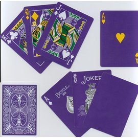 Magic Makers Purple MM Bicycle Deck
