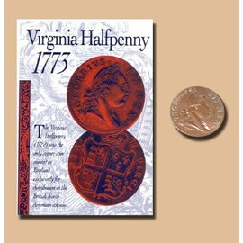 Replica Coin Virginia Halfpenny