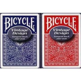 Bicycle Tangent Back #7 Blue