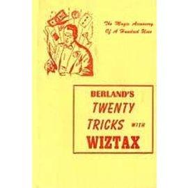 D. Robbins Twenty Tricks With Wiztax by Sam Berland - Book (M7)