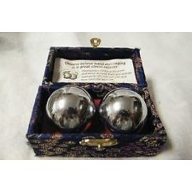 Silver Massage Balls 35 MM